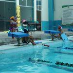 Piscina Jorge Chávez sede de clausura de natación escolar