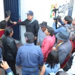 José Supo cumple con Mercado Juana Cervantes de Campo Marte e inaugura sus Servicios Higiénicos