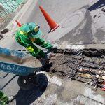 Municipalidad se anticipa a meses de lluvia limpiando drenajes y construyendo  Tapas de concreto