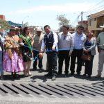 José Supo inaugura «Drenaje Pluvial en la avenida Che Guevara»