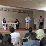 José Supo se compromete a arreglar las transversales de la zona de Jorge Chávez en medio de juramentación de su directiva