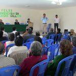 José Supo presente en Aniversario 51 de Cesar Vallejo, ratifica el mantenimiento del parque Infantil y del Adulto en su zona