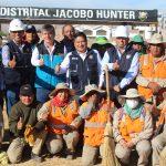 """Mancomunidad en operativo  """"Las Peñas"""" Hunter"""