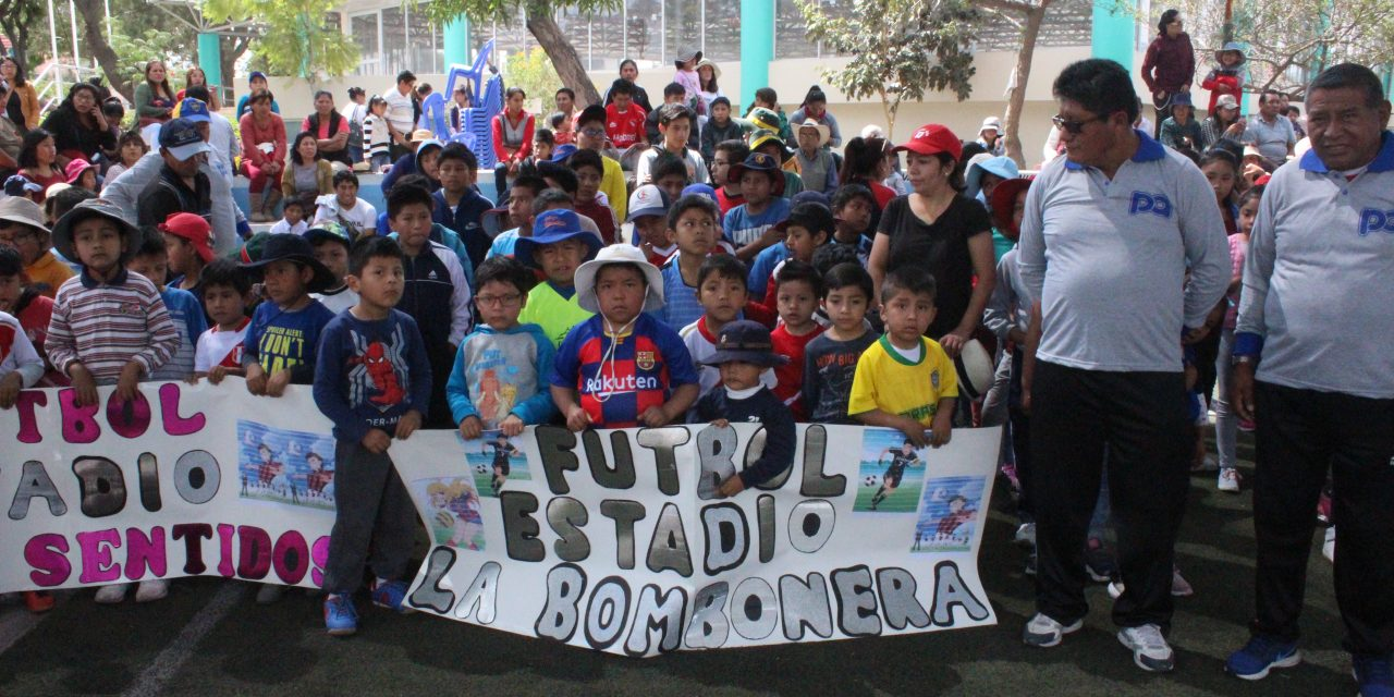 Alcalde inaugura Vacaciones Útiles Paucarpata 2020 con presencia de cientos de niños participantes
