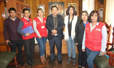 Representantes del CEM se reúnen con la Municipalidad de Paucarpata para programar talleres en favor de las mujeres del distrito