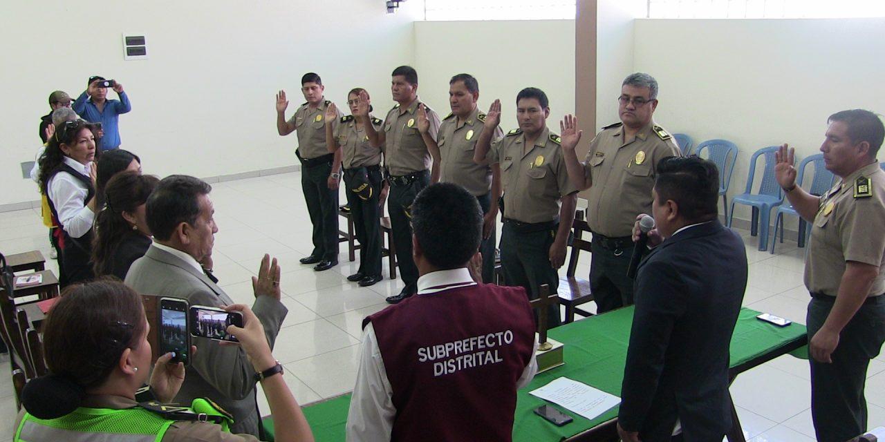 Presidente de CODISEC José Supo, presentó a los nuevos Comisarios del presente año en nuestra jurisdicción