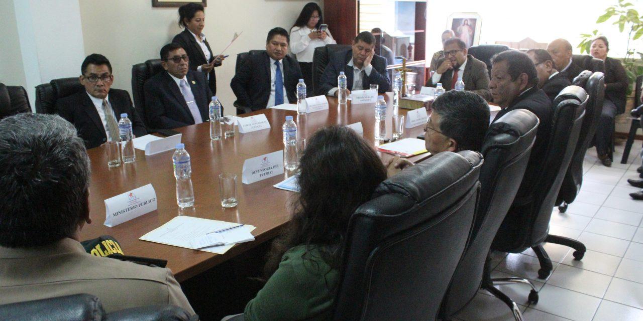 COPROSEC incluirá comisarias de la jurisdicción de Paucarpata para reforzar la seguridad en operativos coordinados