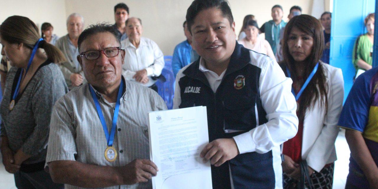 Mercado Micaela Bastidas presentó nueva junta directiva