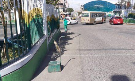 Mejorando Ornato de calles en 15 de Agosto