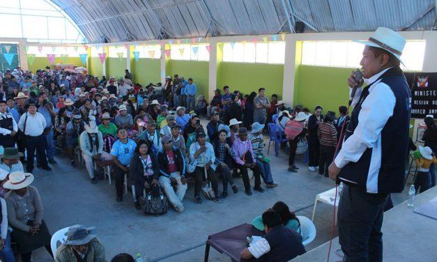 """Alcalde José Supo realiza """"Campaña Informativa de Salud"""" en la zona Virgen de Chapi"""
