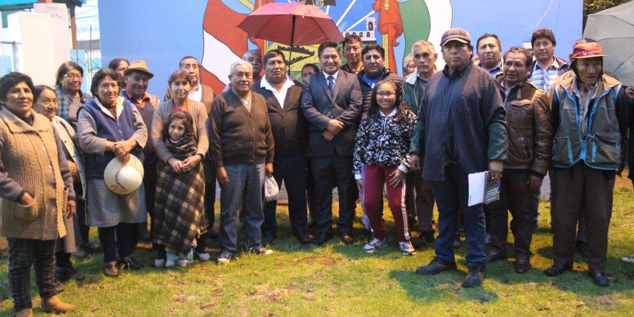 En reunión de trabajo con la urbanización Manco Capac se aprobó la instalación de Grupo Terna en las instalaciones de la Biblioteca Municipal Manco Capac