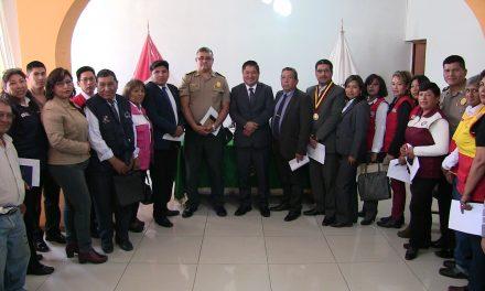 Esta mañana juramentaron todos los representantes de la Instancia Distrital contra la violencia de la mujer e integrantes del grupo familiar en Paucarpata