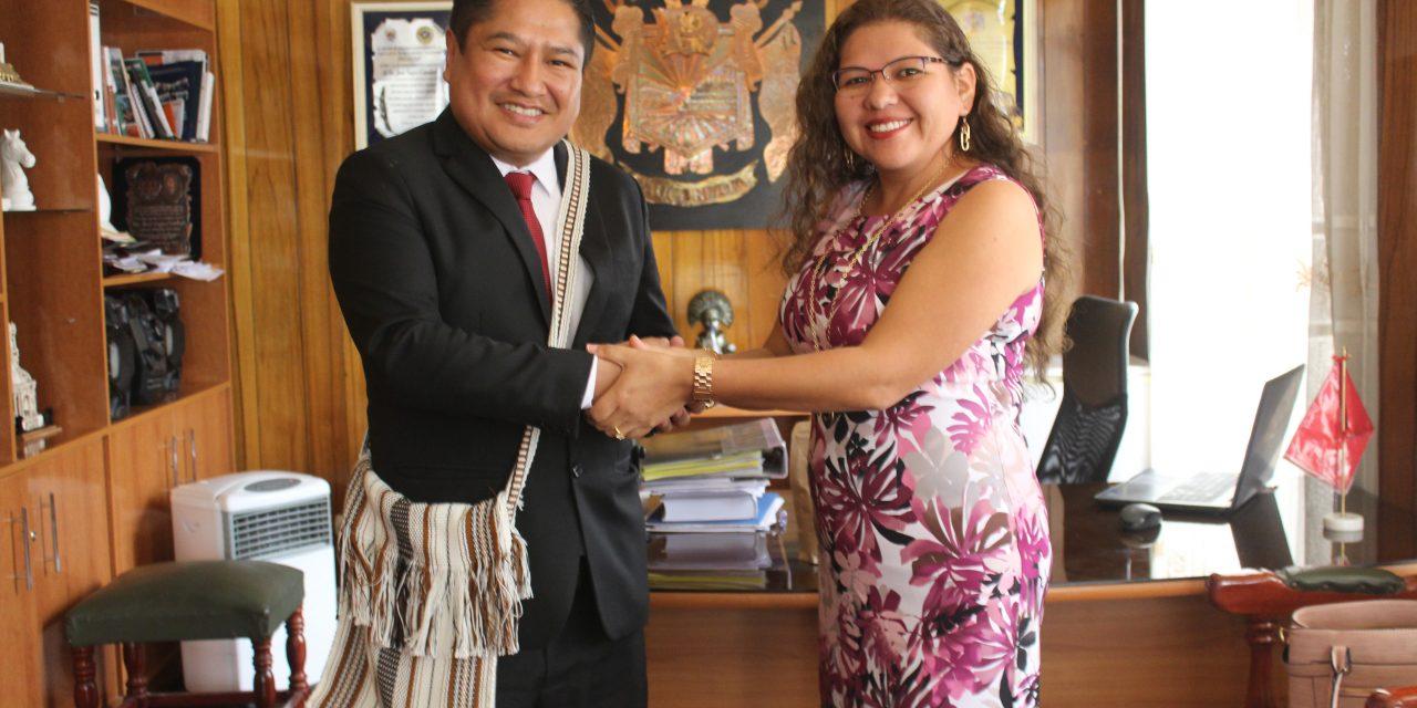 Paucarpata recibió visita de Alcaldesa de Río Negro para formar convenios culturales entre ambos distritos