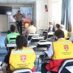 Reunión de Seguridad Ciudadana entre autoridades del Municipio, Comisarias de Paucarpata y coordinadores de seguridad vecinal en ciudad Blanca
