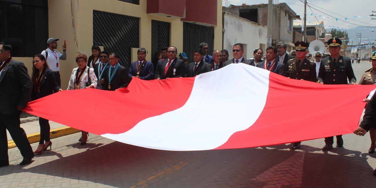 Paucarpata saluda a Yarabamba por su 77 Aniversario