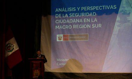 Alcalde de Paucarpata es parte del Primer Congreso Macro Regional Sur de Seguridad Ciudadana