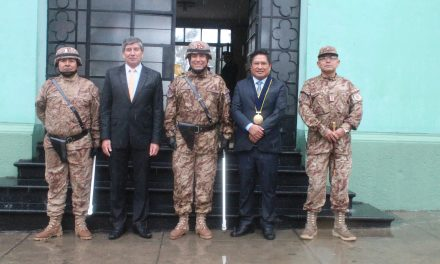 Nuevo Comandante General de la 3ra Brigada de Servicios, Coronel Oscar Lehahua Huaracallo presto a coordinar operaciones con Paucarpata