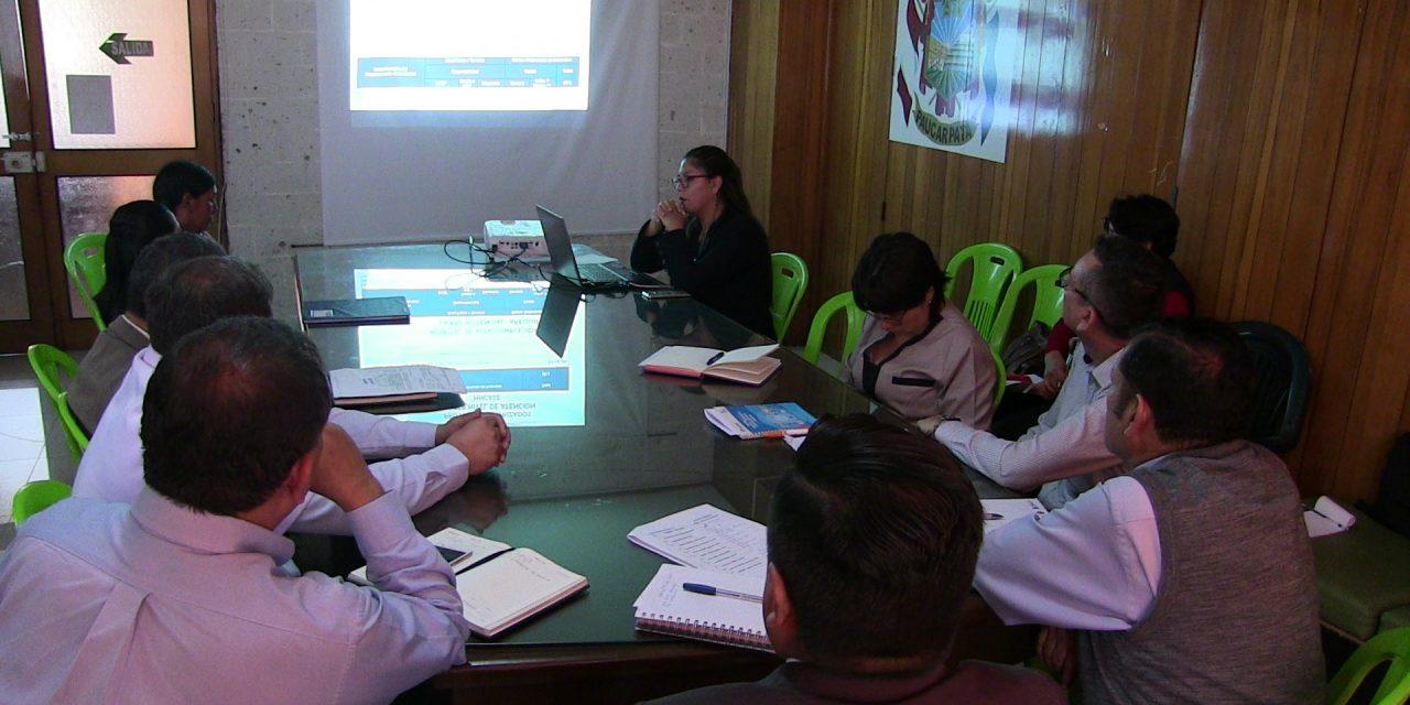 José Supo y Representantes de EsSalud se juntaron para evaluar la construcción de un Hospital  de Alta Complejidad en Miguel Grau