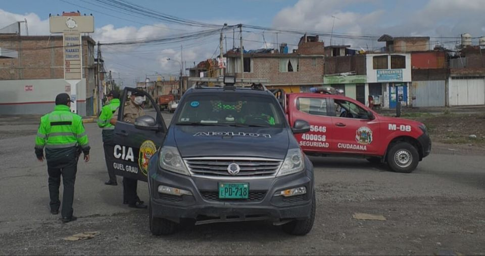Serenazgo y PNP patrullan las calles las 24 horas