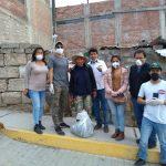 Entrega de Víveres de primera necesidad a zonas altas de Paucarpata