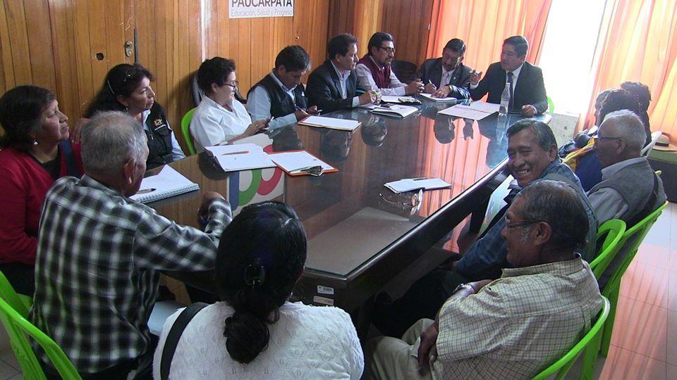 Comité Multisectorial preapara plan de sensibilización contra coronavirus