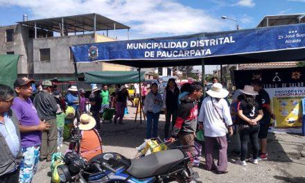 Campaña de Prevención contra Coronavirus en Feria «De la Chacra a la Olla»