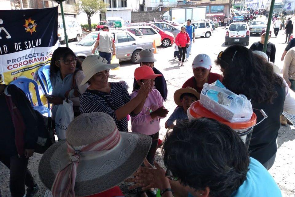 Comité Multisectorial sigue con sus campñas de salud contra coronavirus