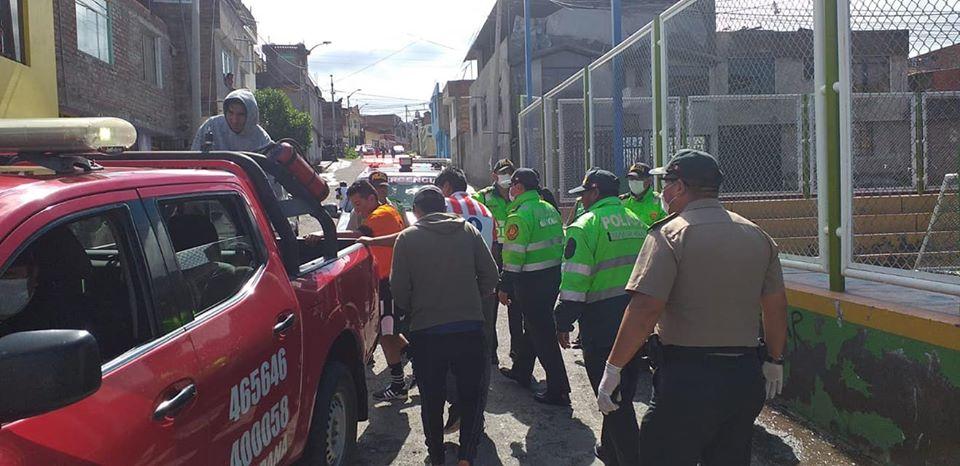 Serenazgo detiene a ciudadanos que hacen caso omiso a disposiciones del gobierno