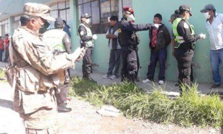 16 detenidos por desacatar el Estado de Emergencia.