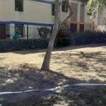 Operativo de limpieza en Los Alamos y Sor Ana