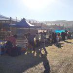 Mercado Itinerante en Ciudad Blanca