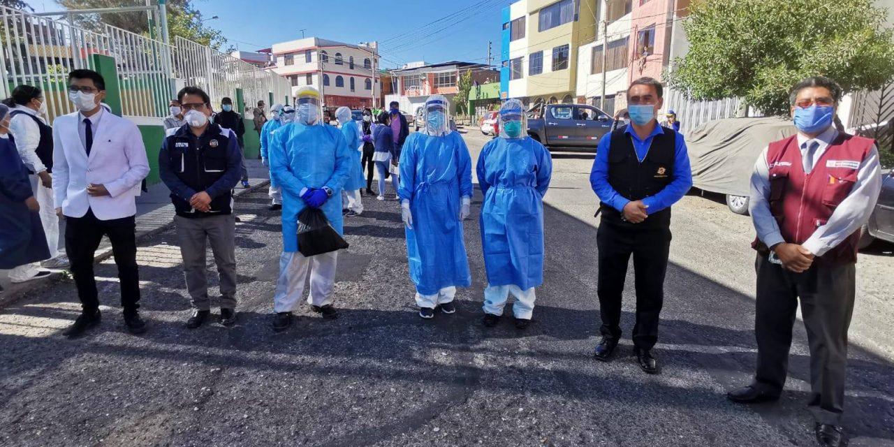 """Segundo día de Programa """"Barrio Libre de Coronavirus"""""""