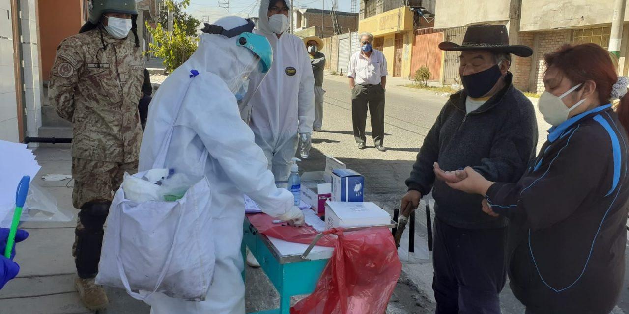 Barrio Libre de Coronavirus en Miguel Grau