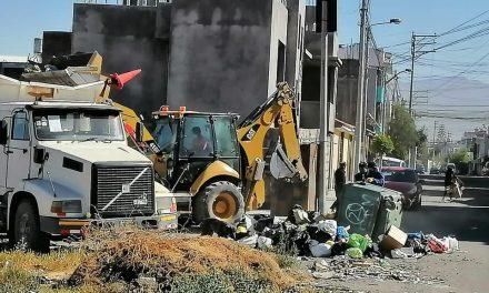 Contratación de de maquinarias pesadas para el recojo de residuos