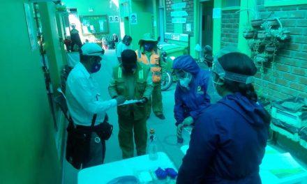 Reparto semanal de EPP´s al personal de limpieza pública