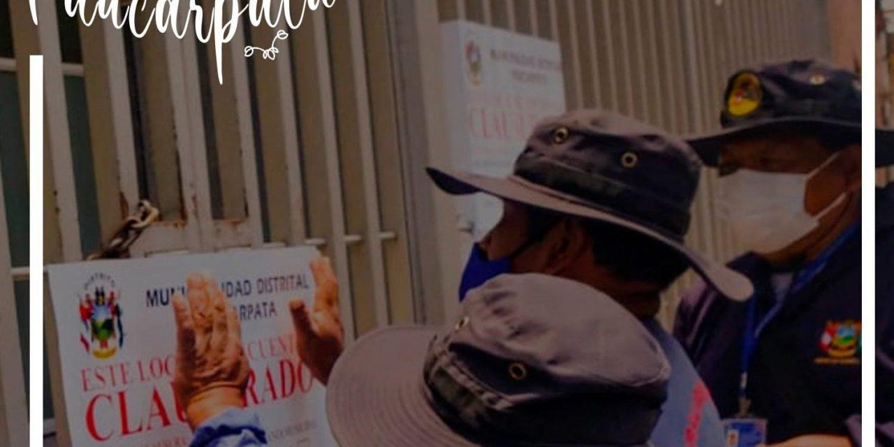 OPERATIVOS DE FISCALIZACIÓN EN PAUCARPATA
