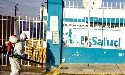 JORNADAS DE DESINFECCIÓN EN TODO PAUCARPATA