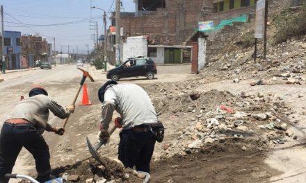 Continuan Trabajo de limpieza en las principales vias