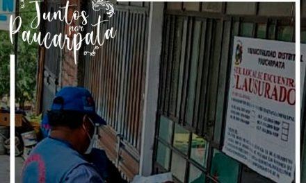 OPERATIVO DE FISCALIZACIÓN, DA COMO RESULTADO UN PROSTÍBULO CLAUSURADO