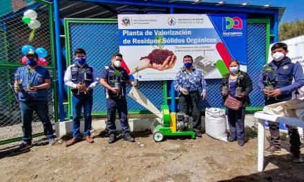 TODAS LAS FAMILIAS SE BENEFICIAN CON EL MEJOR CUIDADO Y MANTENIMIENTO DE ÁREAS VERDES, PARQUES Y JARDINES  MUNICIPALIDAD DE PAUCARPATA INAUGURÓ UNA PLANTA DE COMPOSTAJE QUE GENERARÁ CERCA DE 100 TONELADAS DE ABONO ORGÁNICO ANUAL