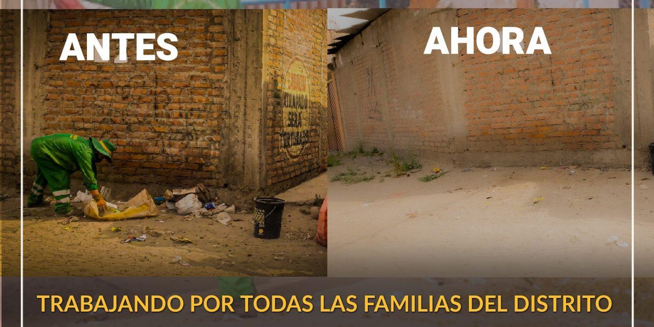 OPERACIÓN PICHAYPATA EN ACCIÓN LIMPIEZA Y SALUD PARA TODAS LAS FAMILIAS DEL  –  DISTRITO DE PAUCARPATA