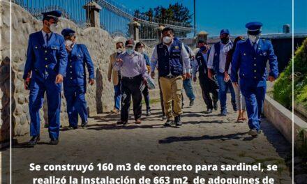 PASAJES TURÍSTICOS FUERON INAUGURADOS EN EL PUEBLO TRADICIONAL DE PAUCARPATA