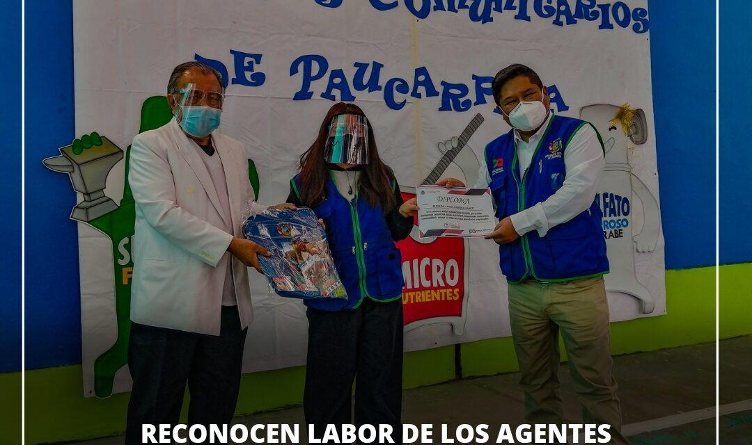 RECONOCEN LABOR DE LOS AGENTES COMUNITARIOS DE SALUD DE PAUCARPATA EN SU DÍA