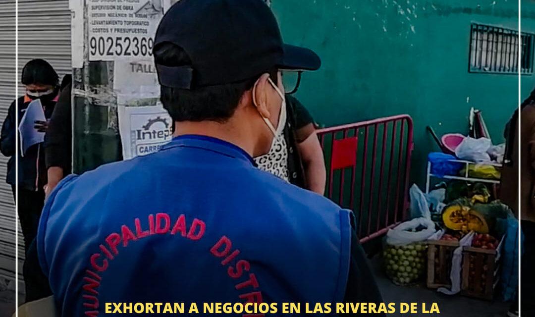 EXHORTAN A NEGOCIOS EN LAS RIVERAS DE LA TORRENTERA DEL BADEN A CAMBIAR DE UBICACIÓN POR EL RIESGO DEL LUGAR