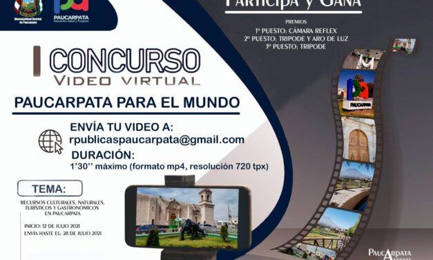 #Paucarpata | CONCURSO DE VIDEOS «PAUCARPATA PARA EL MUNDO»